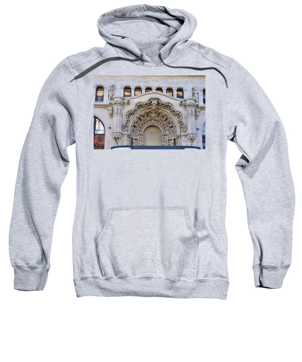 Clay Sweatshirt featuring the photograph Street Photography by Clayton Bruster