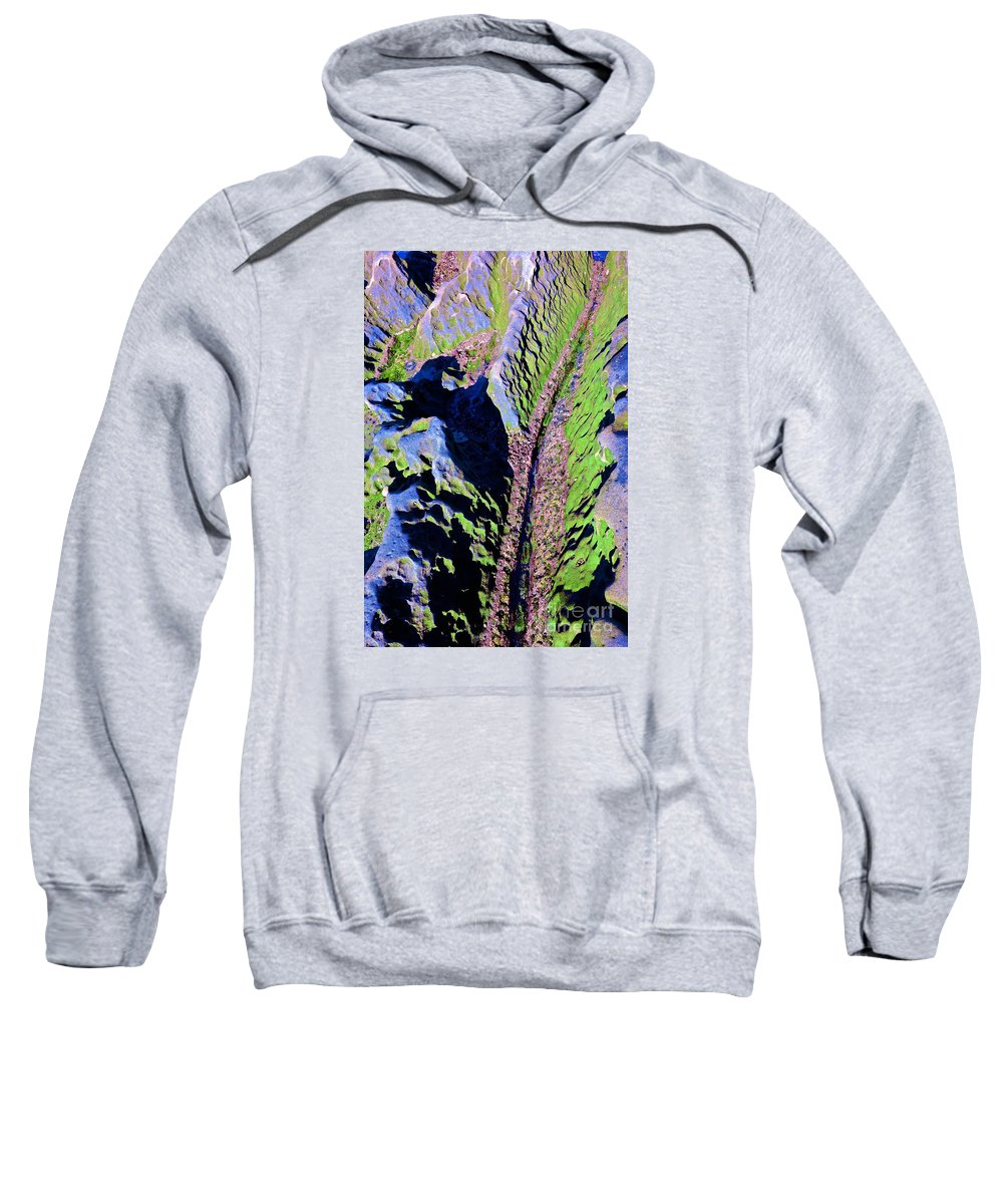 Sea Tide Pool Ocean Sweatshirt featuring the photograph Untitled by Cate