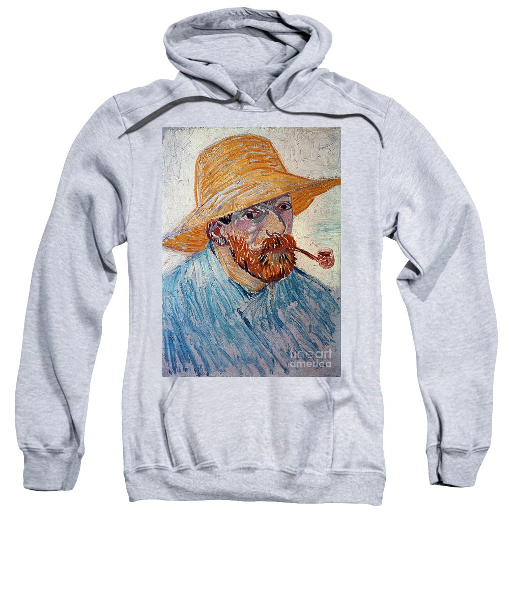 1888 Sweatshirt featuring the photograph Vincent Van Gogh by Granger