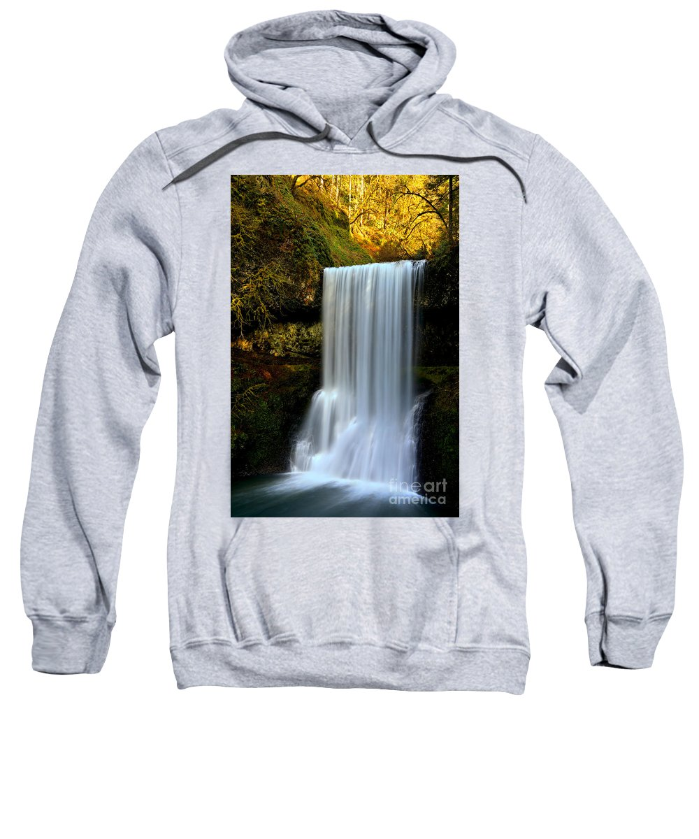 Sweatshirt featuring the photograph x by Adam Jewell