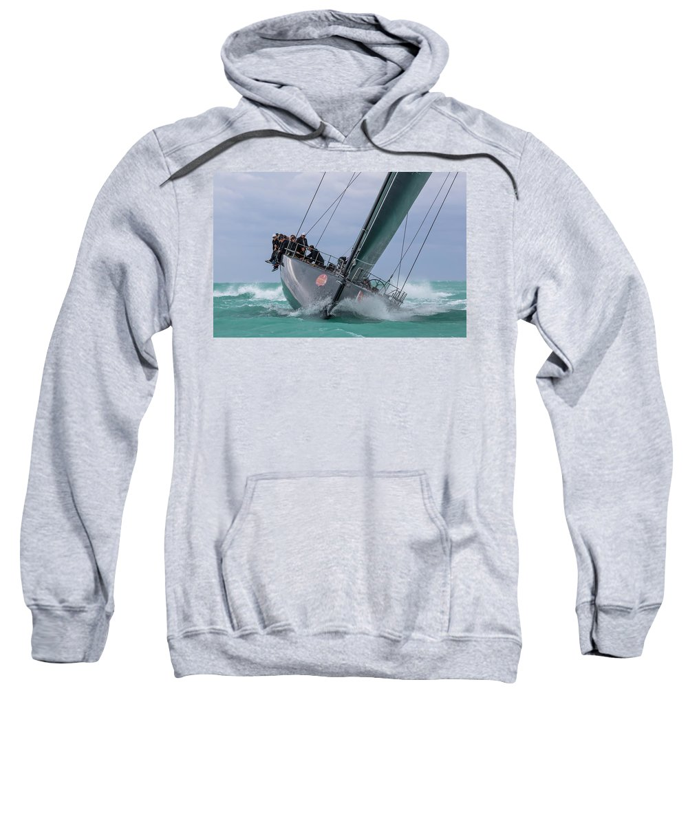 Sail Sweatshirt featuring the photograph Center Of Attention by Steven Lapkin