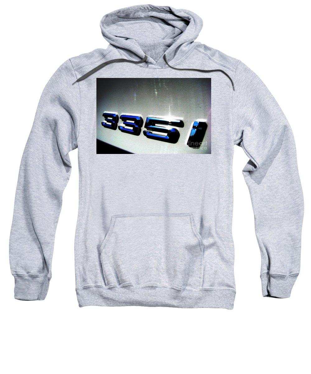 335i Sweatshirt featuring the photograph 335i by Amanda Barcon
