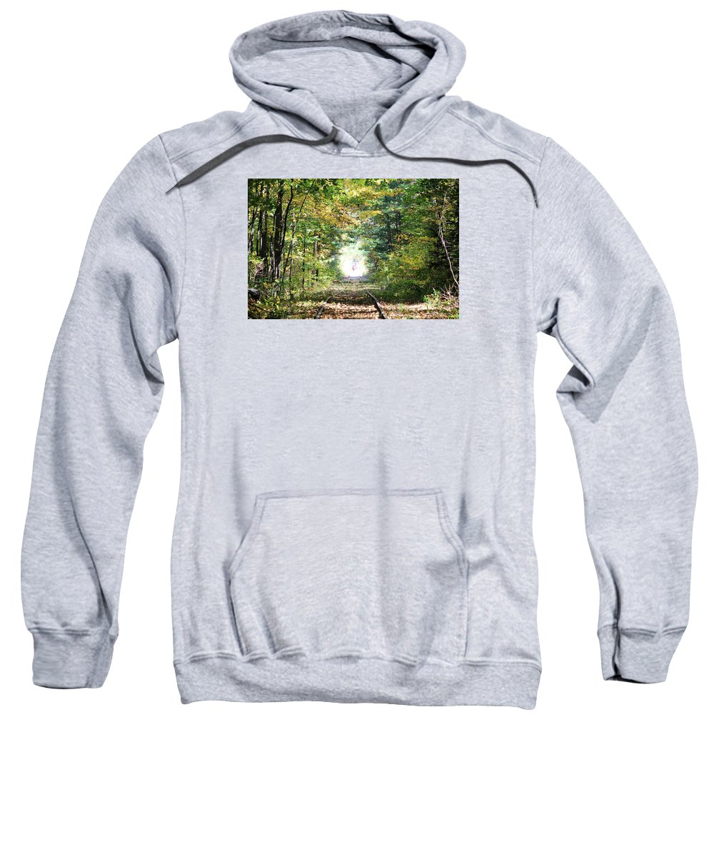 Fog Sweatshirt featuring the photograph Wolfeboro Nh by Donn Ingemie