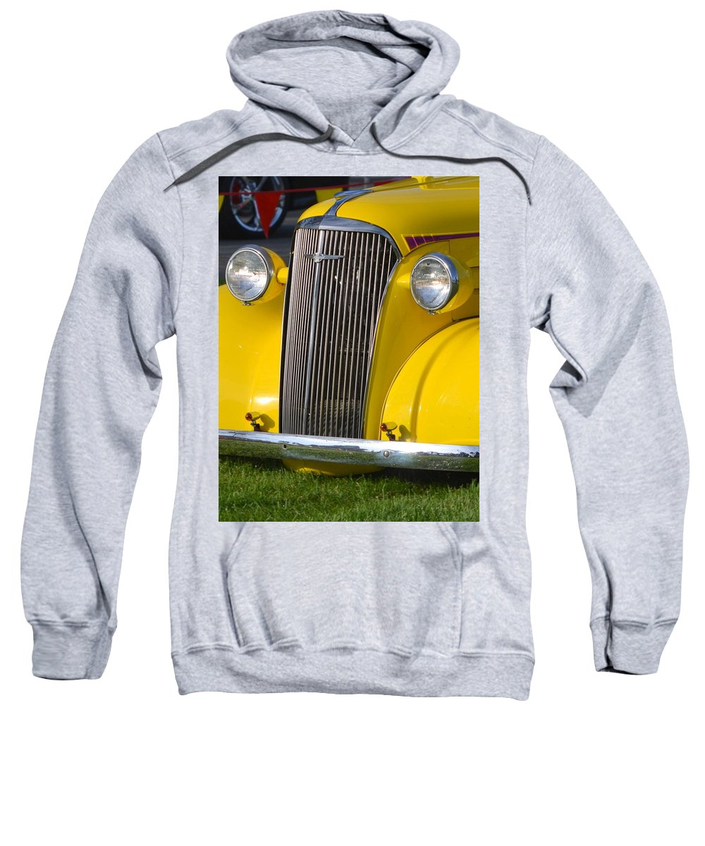 Sweatshirt featuring the photograph Chevy Pickup by Dean Ferreira