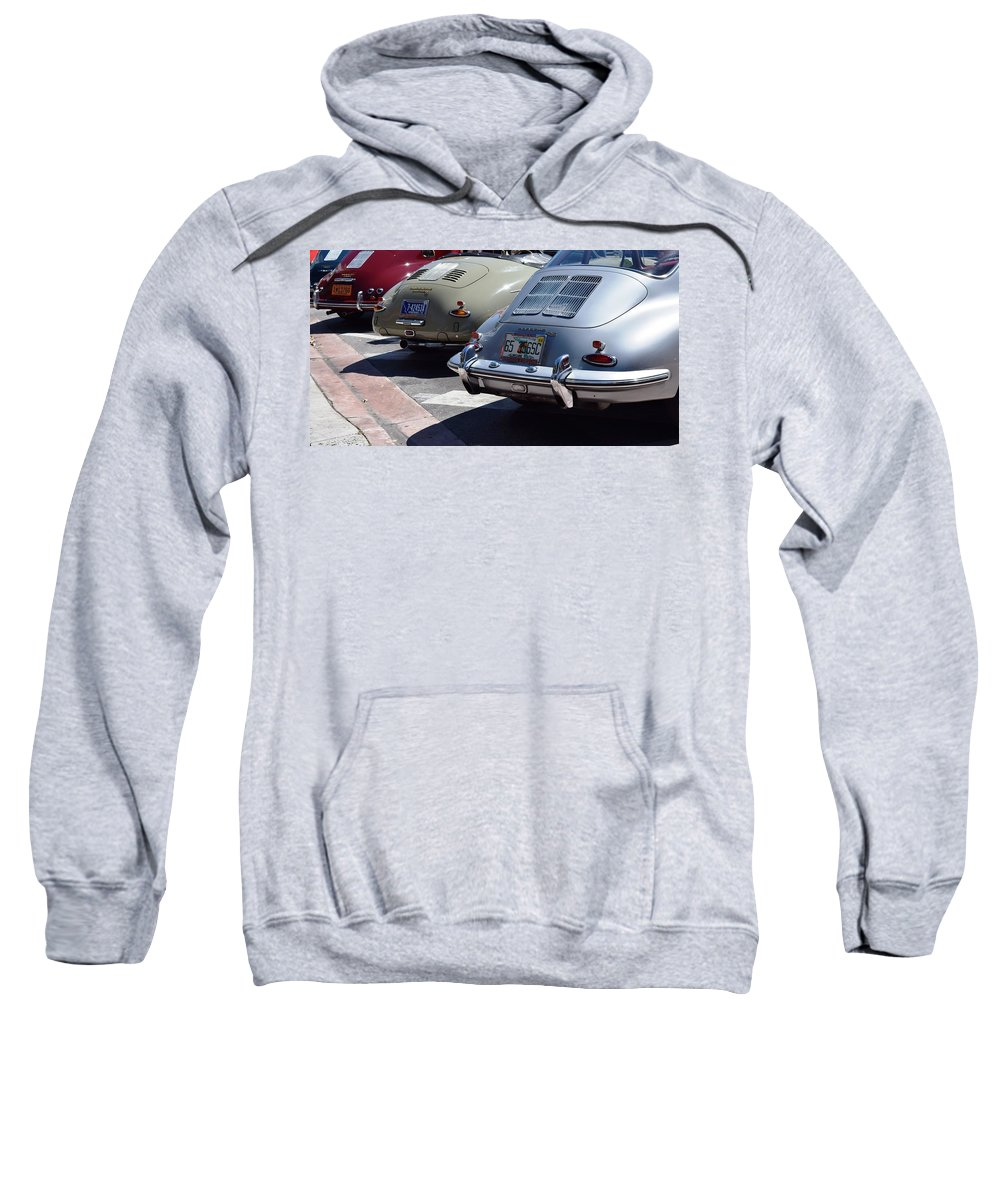 Porsche Sweatshirt featuring the photograph Porsche by Recluse Road