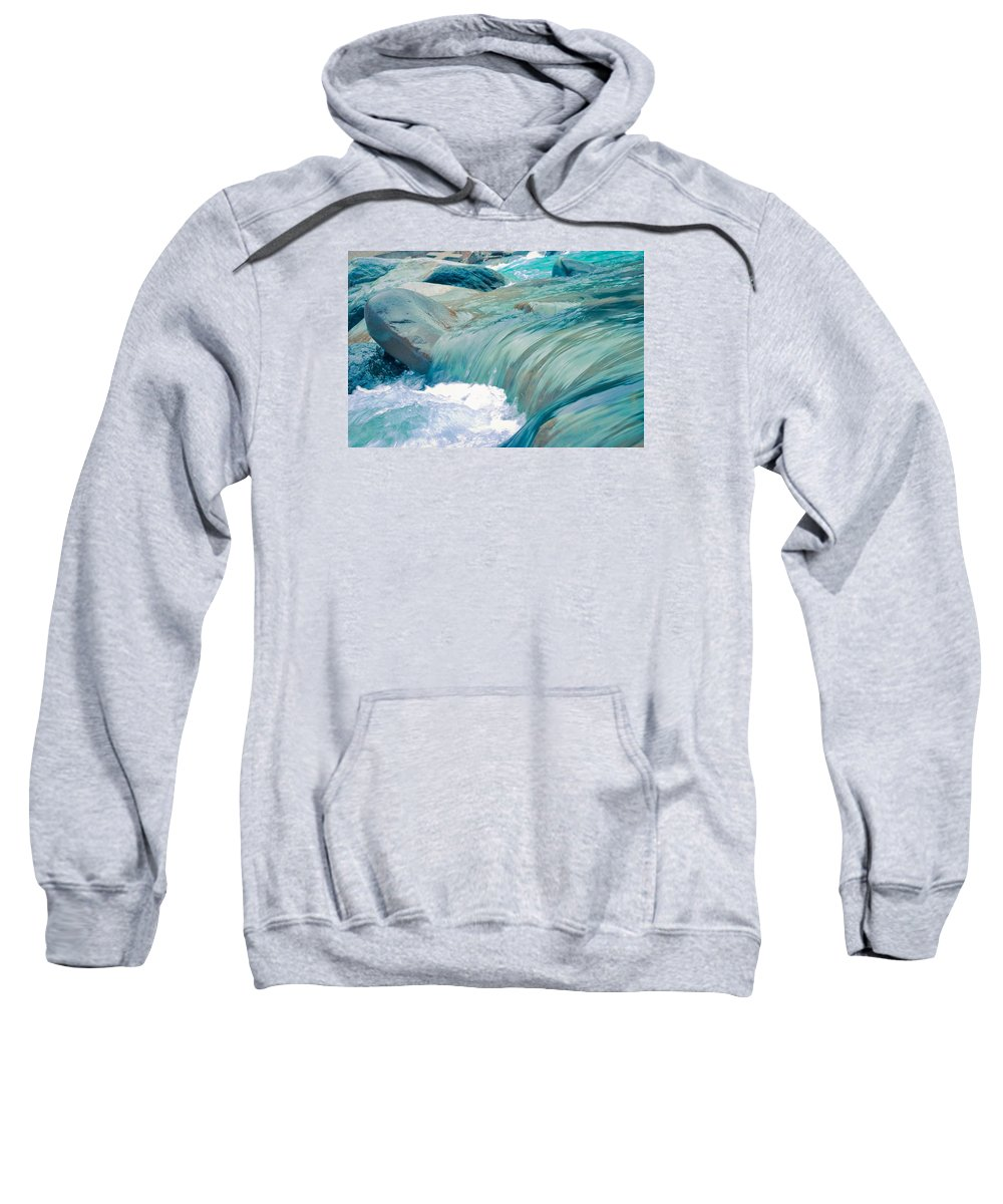 Beach Sweatshirt featuring the photograph Water by FL collection