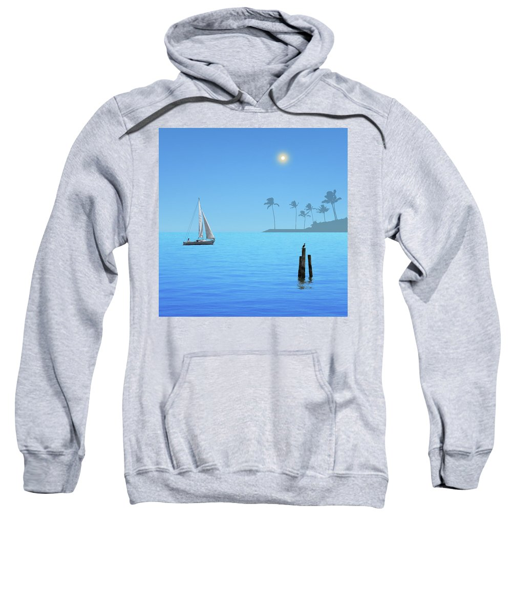 Morning Sweatshirt featuring the photograph 4606 by Peter Holme III