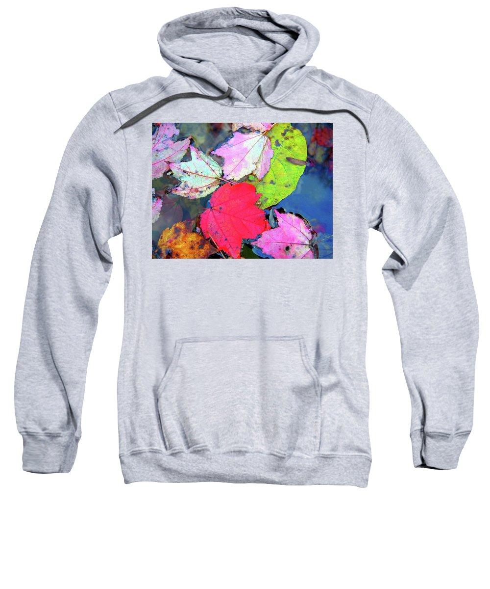 Leaf Sweatshirt featuring the digital art Leaf by Mery Moon