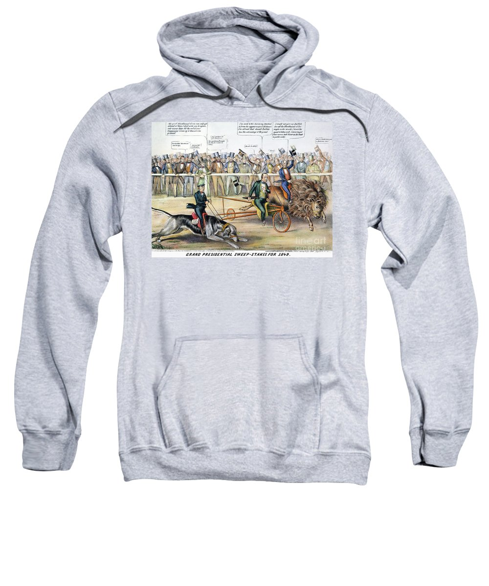 1848 Sweatshirt featuring the photograph Presidential Campaign by Granger