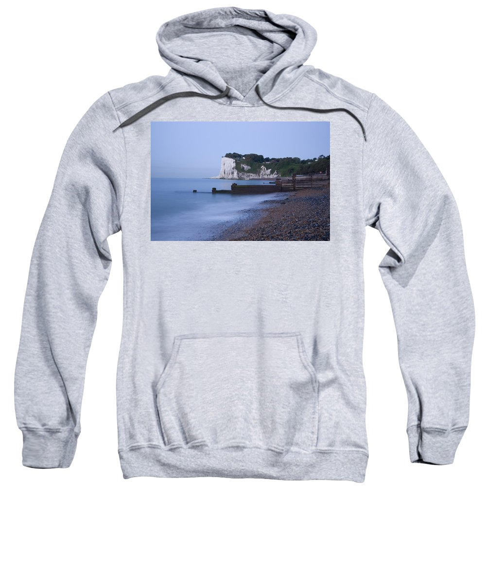 Dover Sweatshirt featuring the photograph Sunrise At The White Cliffs Of Dover by Ian Middleton