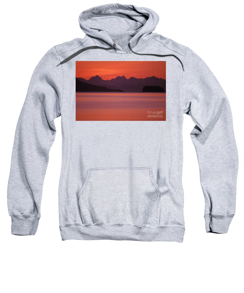 Altitude Sweatshirt featuring the photograph View Of Alaska by John Hyde - Printscapes
