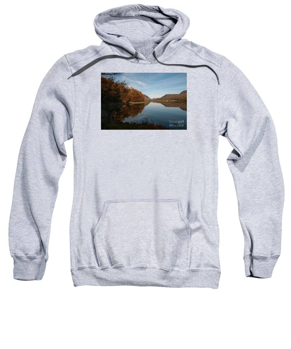 Buttermere Lake Sweatshirt featuring the photograph Buttermere by Smart Aviation