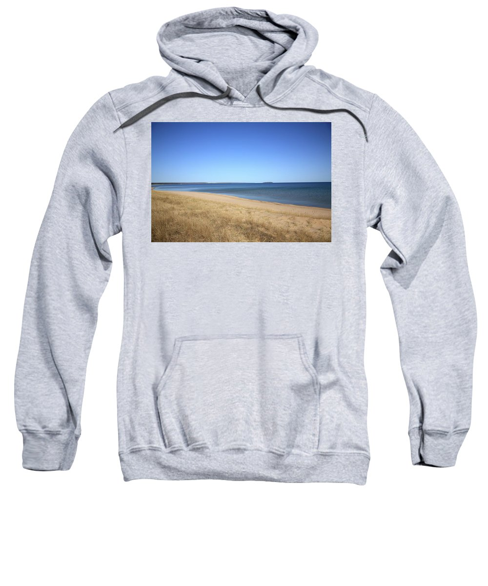 America Sweatshirt featuring the photograph Lake Superior by Frank Romeo