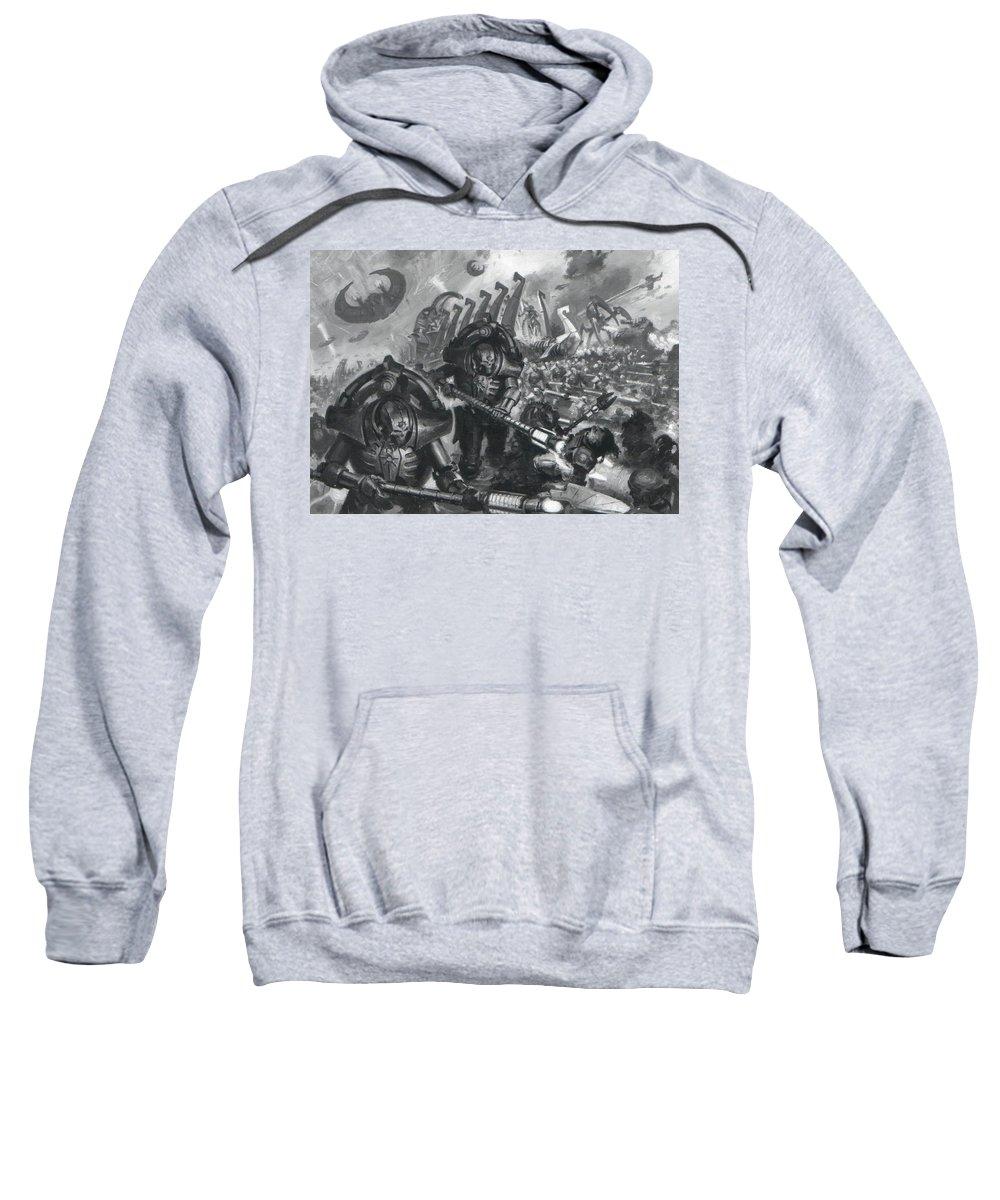 Other Sweatshirt featuring the digital art Other by Bert Mailer