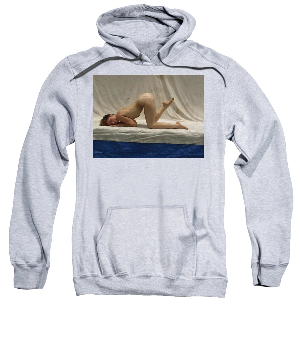 Sweatshirt featuring the photograph The Net by Lucky Cole