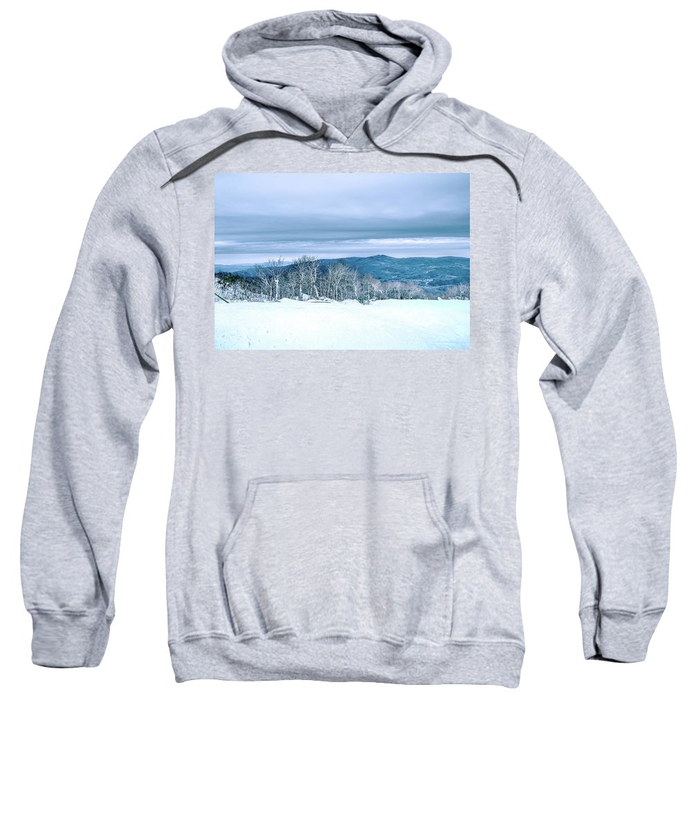 Mountain Sweatshirt featuring the photograph North Carolina Sugar Mountain Skiing Resort Destination by Alex Grichenko