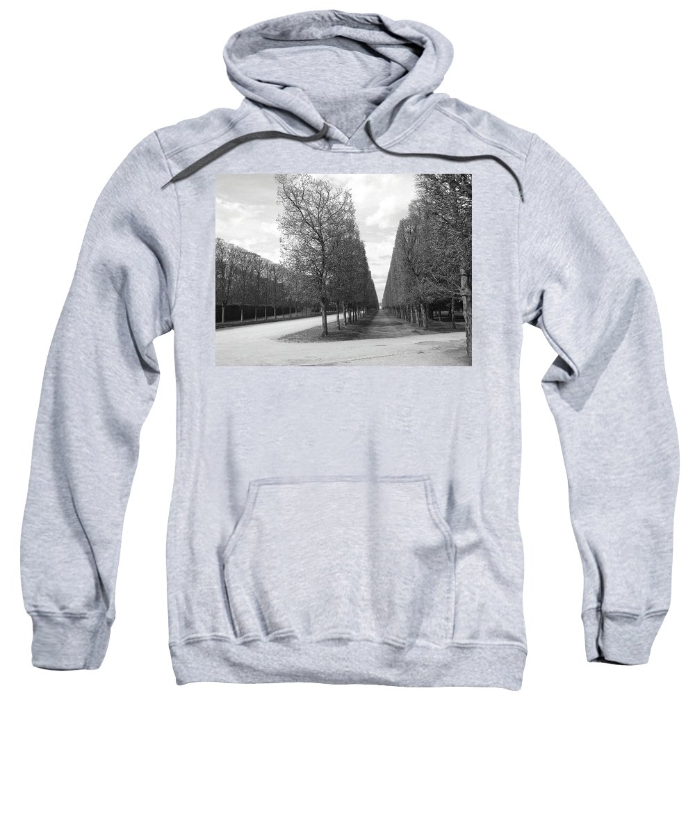 Trees Sweatshirt featuring the photograph A Break In The Trees by Tom Reynen