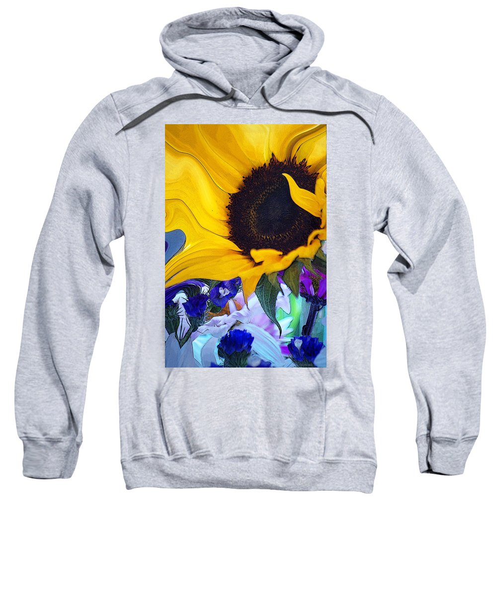 Flowers Sweatshirt featuring the photograph A Childs Mind... by Arthur Miller