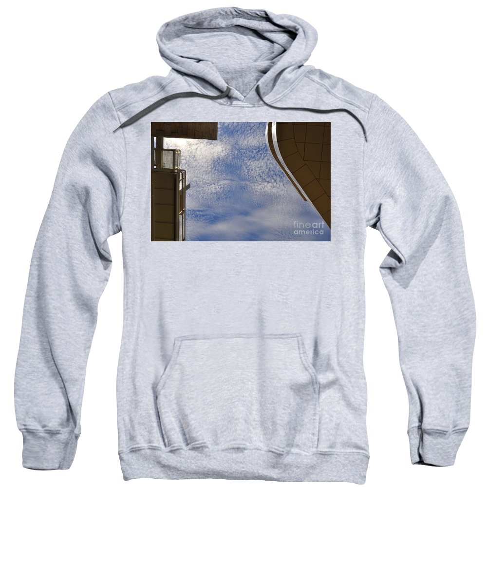 Clay Sweatshirt featuring the photograph A Day At The Getty by Clayton Bruster