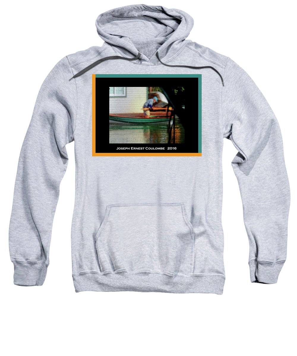 Sacramento River Sweatshirt featuring the photograph A Day On The Water by Joseph Coulombe