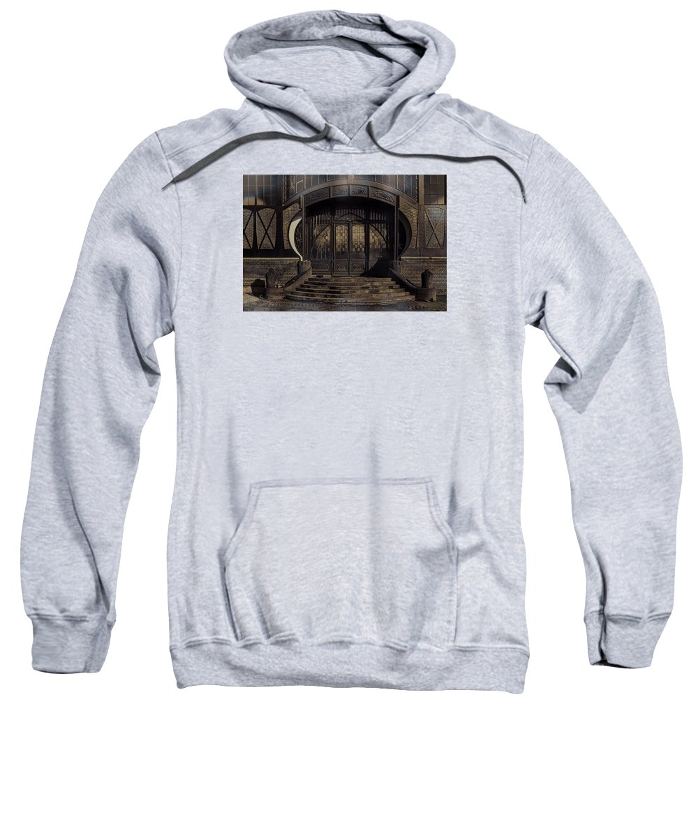 Door Photography Sweatshirt featuring the photograph A Good Comparison by Nicole Frischlich
