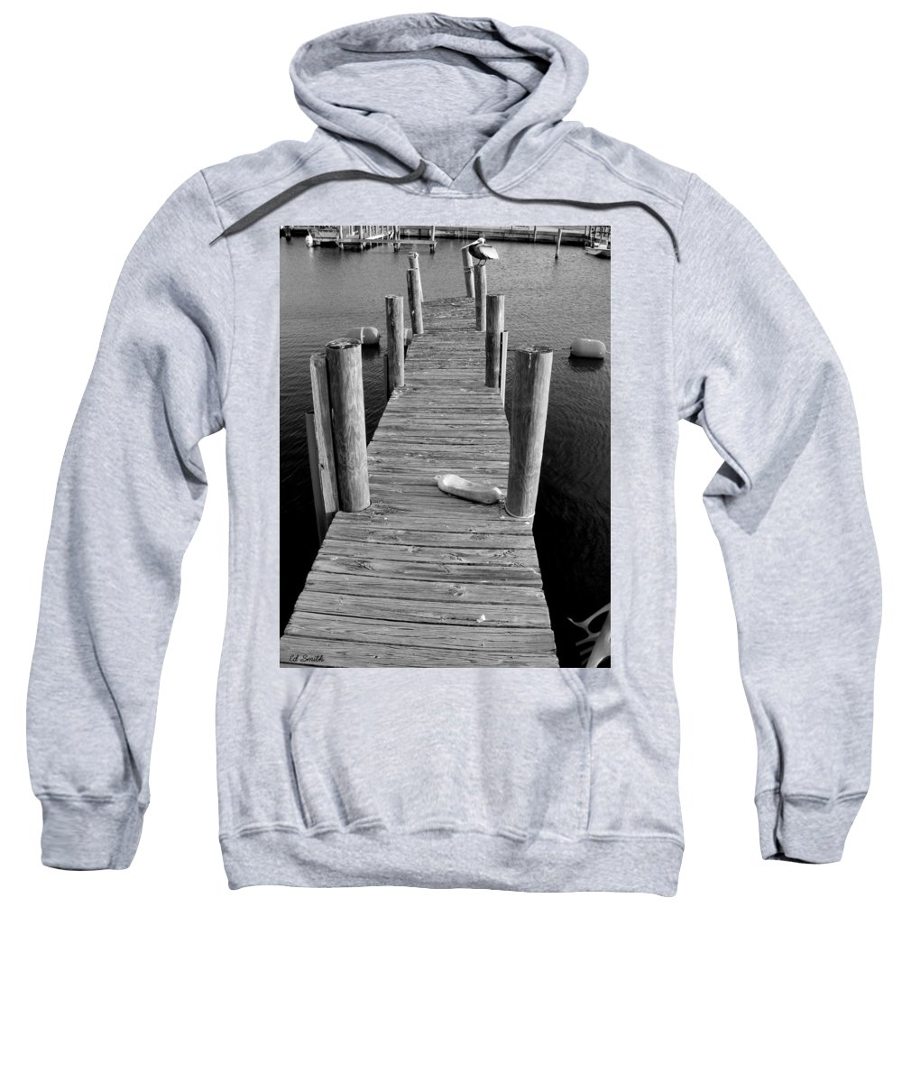 A Heavy Weight Sweatshirt featuring the photograph A Heavy Weight by Ed Smith
