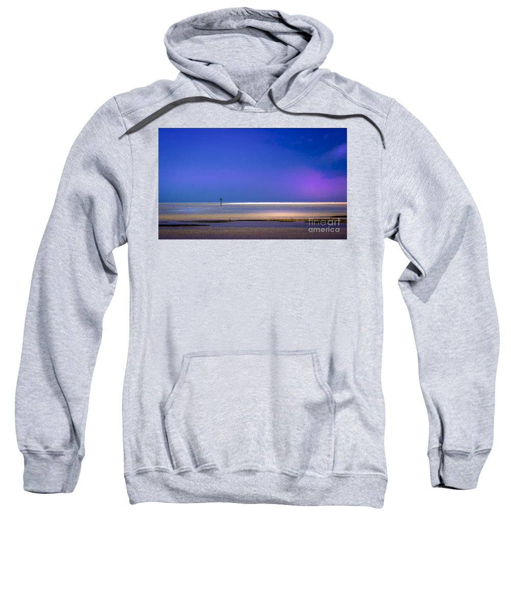 Cove Sweatshirt featuring the photograph A Little Blush In The Sky by Marvin Spates
