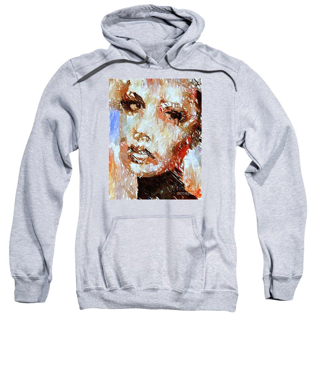 Rafael Salazar Sweatshirt featuring the digital art A Look At The Past by Rafael Salazar