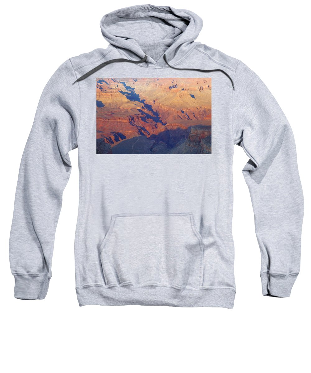 Autumn Sweatshirt featuring the photograph A Mile Deep by Beth Collins