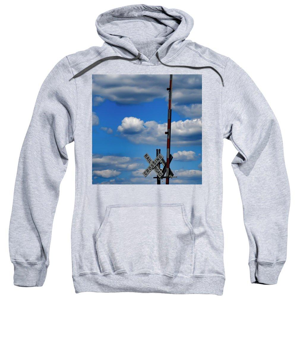 Blue Skies Sweatshirt featuring the photograph A Perfect Sky by Carol McGinn