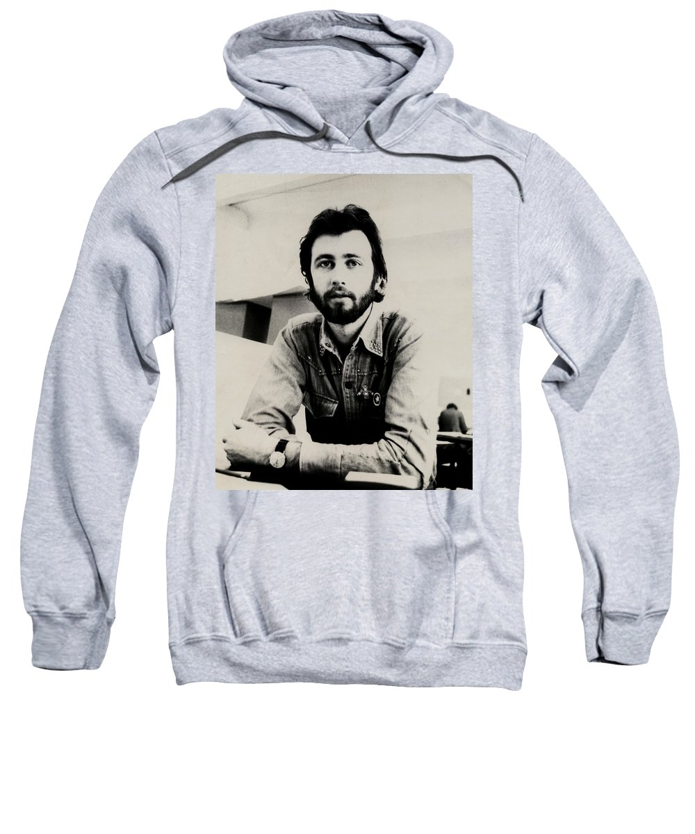 Young Man Sweatshirt featuring the photograph A Portrait Of The Artist As A Young Man by Charles Stuart