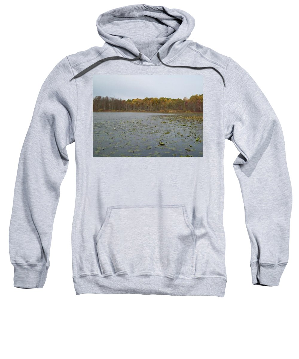 Tmad Sweatshirt featuring the photograph A Step Back Into Time by Michael TMAD Finney