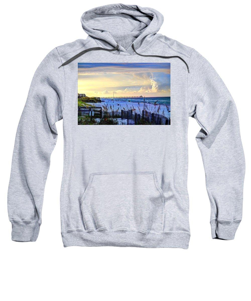 Destin Sweatshirt featuring the photograph A Taste Of Heaven by David Morefield