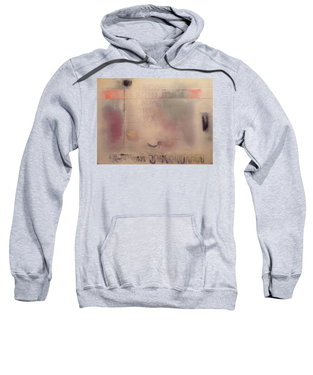 Abstract Sweatshirt featuring the painting A Thought of Stillness by W Todd Durrance