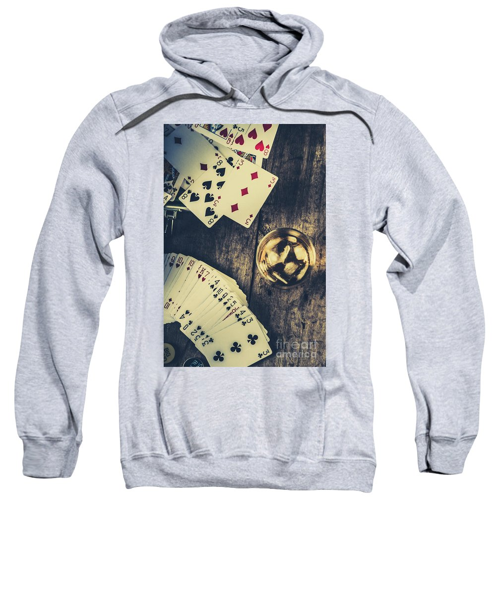 Whiskey Sweatshirt featuring the photograph A Whisky Bet by Jorgo Photography - Wall Art Gallery