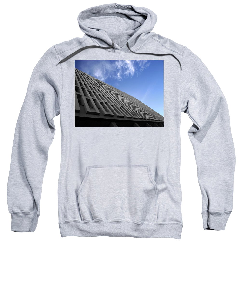 Building Sweatshirt featuring the photograph ABC by Kelly Jade King