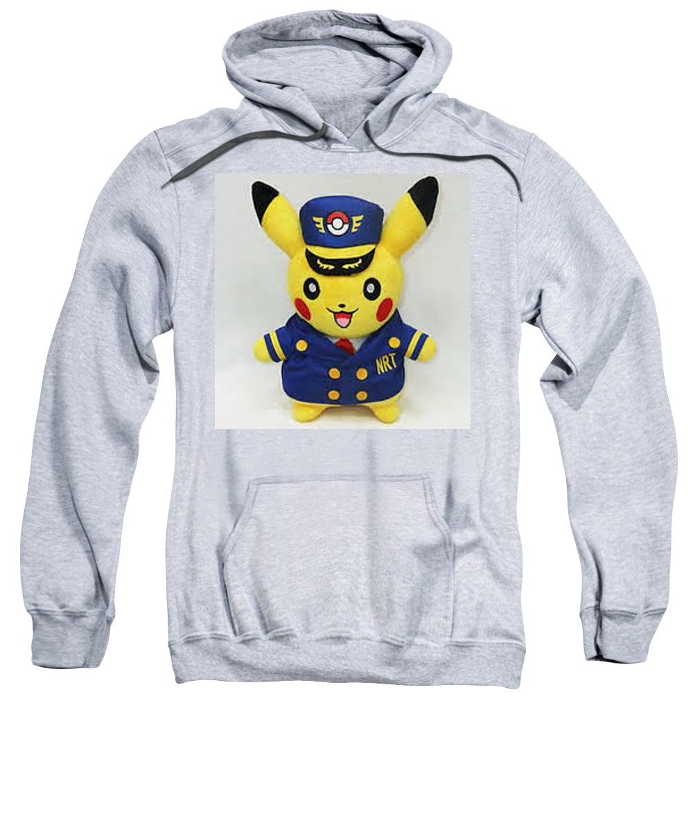 Abhishek Malani Sweatshirt featuring the digital art Abhishek Malani - My Favourite Pokemon by Abhishek Malani
