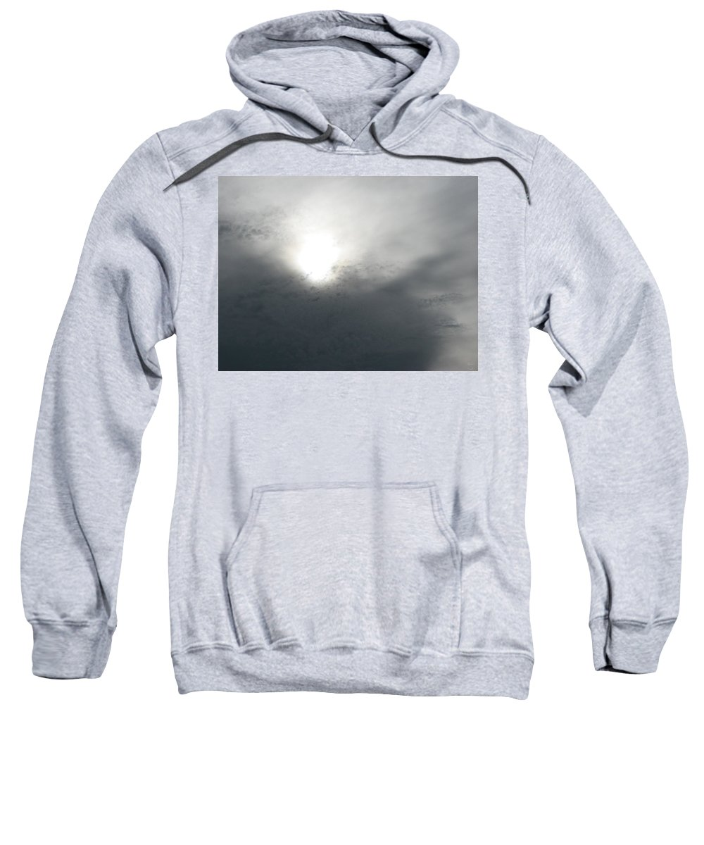 Clouds Sweatshirt featuring the photograph Above by Stacey May