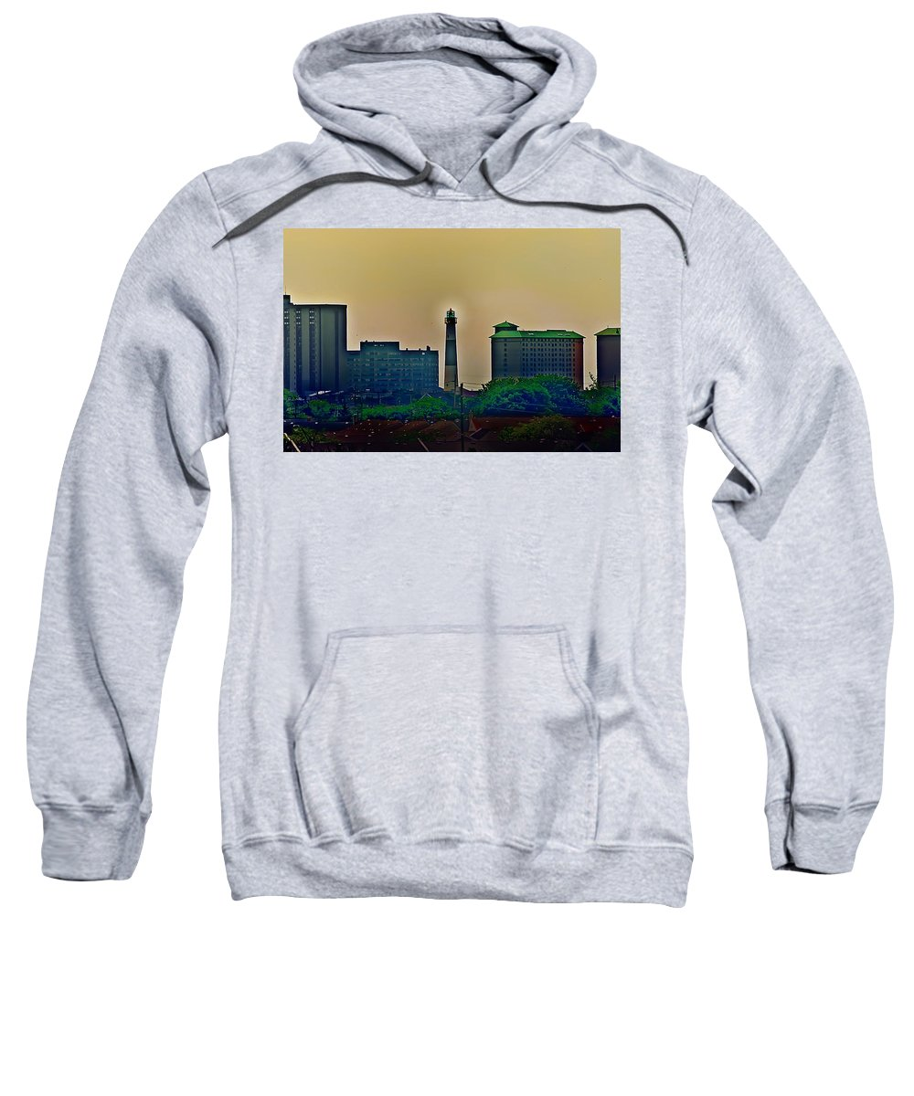 Atlantic City Sweatshirt featuring the photograph Absecon Lighthouse by Bill Cannon