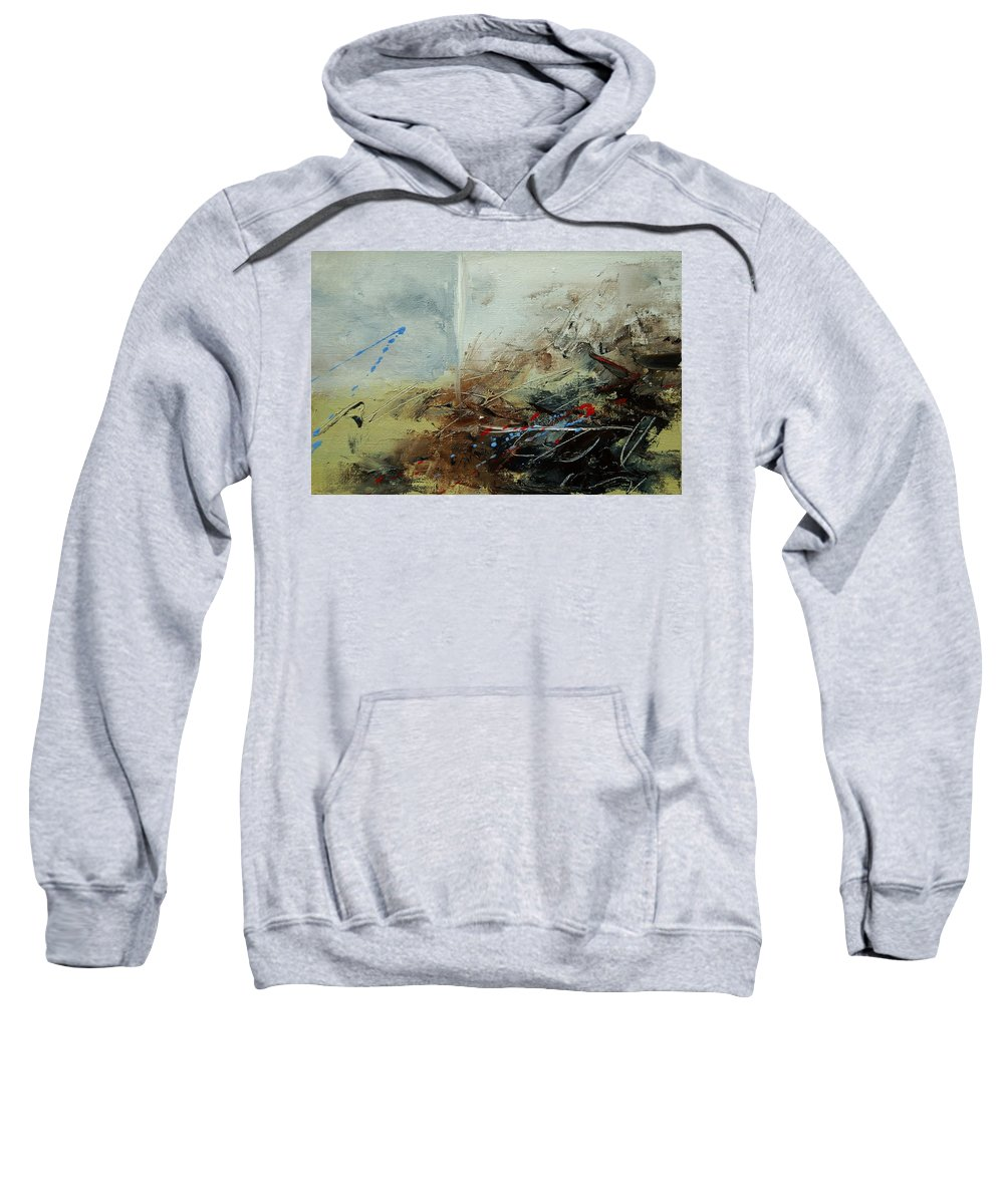 Abstract Sweatshirt featuring the print Abstract 070408 by Pol Ledent