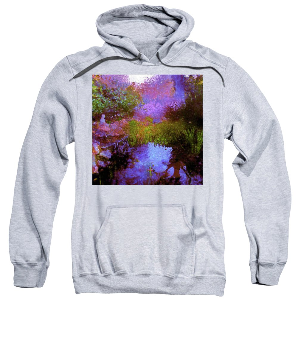 Abstract Sweatshirt featuring the photograph Abstract 103 by Pamela Cooper