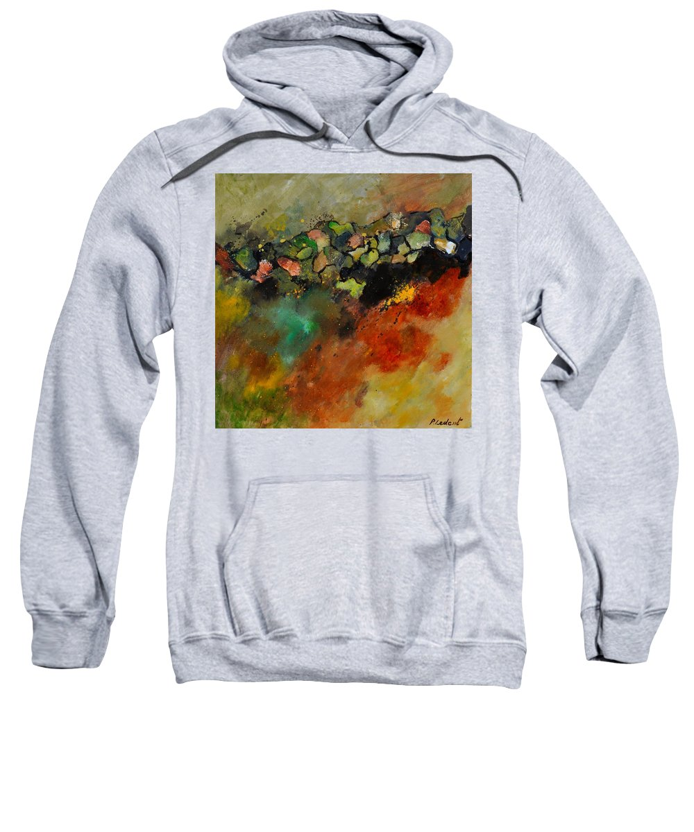 Abstract Sweatshirt featuring the painting Abstract 6611604 by Pol Ledent