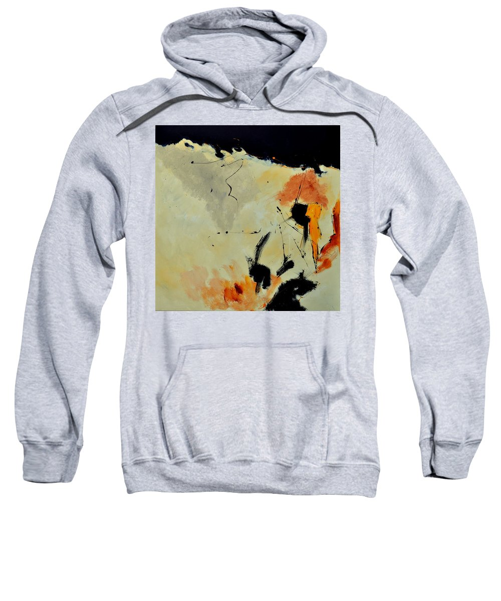 Abstract Sweatshirt featuring the painting Abstract 88112070 by Pol Ledent
