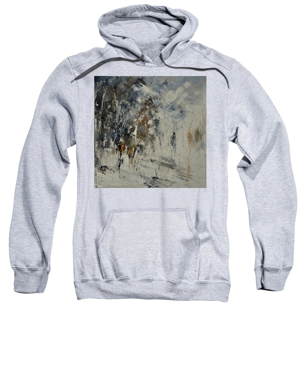 Abstract Sweatshirt featuring the painting Abstract 8821207 by Pol Ledent