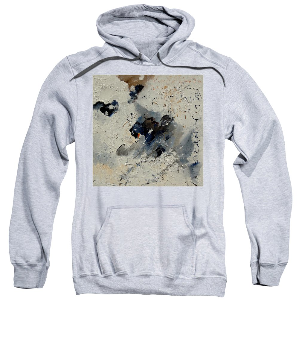 Abstract Sweatshirt featuring the painting Abstract 901141 by Pol Ledent