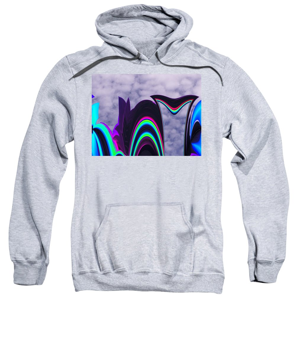 Abstract Sweatshirt featuring the photograph Abstract In The Clouds by Tim Allen