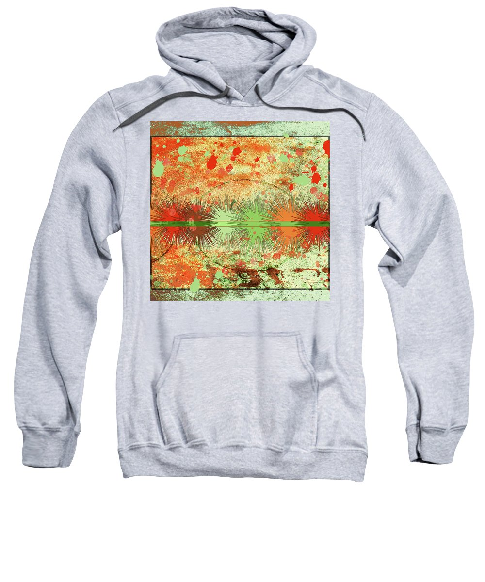 Abstract Sweatshirt featuring the photograph Abstract by Karen Beasley