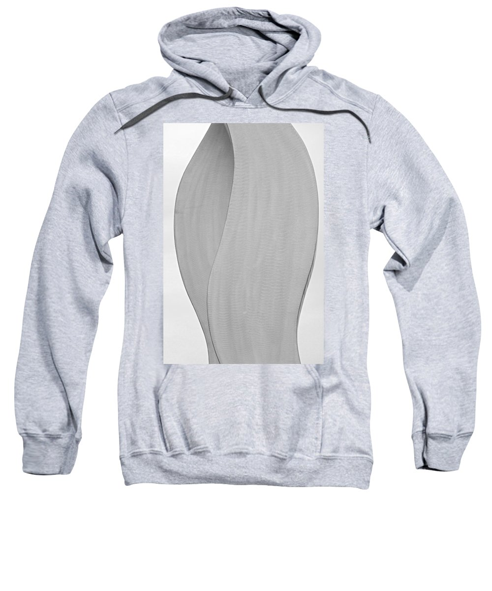 Abstracts Sweatshirt featuring the photograph Abstract One Fine Art by James BO Insogna