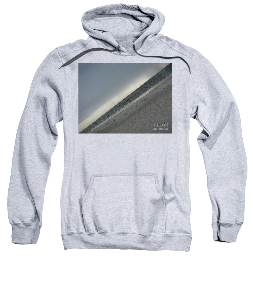 Ocean Sweatshirt featuring the photograph Abstract Sea by Amanda Barcon