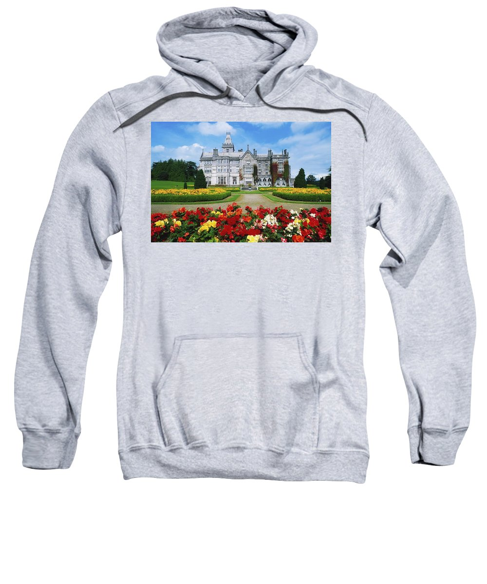 Adare Manor Sweatshirt featuring the photograph Adare Manor Golf Club, Co Limerick by The Irish Image Collection